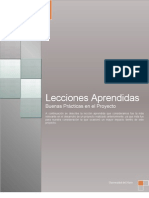 LECCIONES APRENDIDAS - GRUPO 4