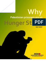 Why Palestinian Prisoners Are on Hunger Strike