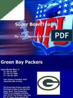 Super Bowl Teams