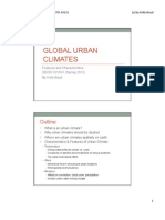 Global Urban Climates by Kelly Boyd