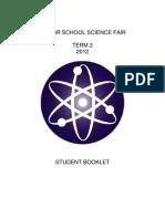 Senior Science Fair Student Booklet