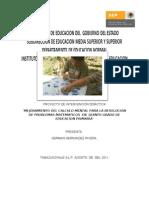 Mi Proyecto de Intervencio Pedagogic A German