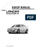 21248742 Mitsubishi Evo Vii Workshop Manual