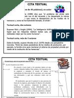 Citas Text y Context