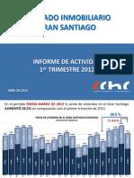 Mercado Inmobiliario - Santiago Chile Abril 2012