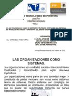 1 La Organizacion Como Un Sistema Estrategico