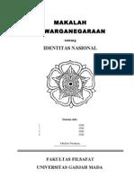 MAKALAH KWN - Identitas Nasional