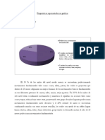 Diagnósticos representados en gráficos