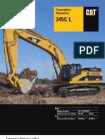 Excavadora Cat 345cl