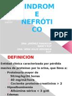 sx nefrotico