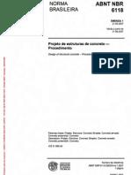 NBR 06118 2007 Projeto de Estruturas de Concreto