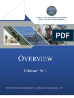 FY2012 Budget Request Overview Book