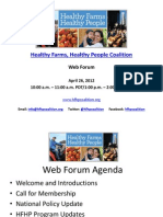HFHP Web Forum Slides 4.26.12