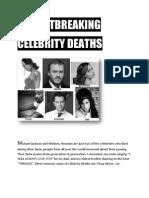 6 Heart Breaking Celebrity Deaths