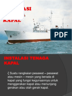 instalasi tenaga kapal