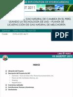 Ingepet 2011 - Proyecto NLG Peru LNG