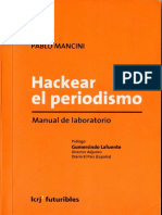 Hackear El Periodismo Pablo Mancini