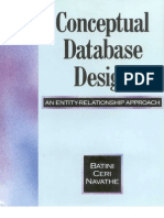 BATINI, Carlo - Conceptual Database Design
