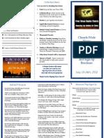 Home Missions Week Info Brochure