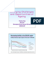 emerging challanges of ageing