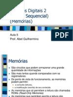 Circuitos2_Aula5_LogicaSequencialMemorias