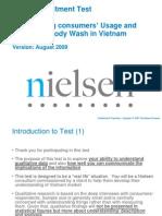 Nielsen Qualitative Recruitment Test- V2- Le Chau Bao