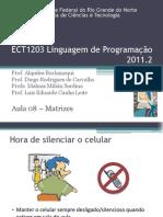 ECT1203 - Aula08 - Matrizes
