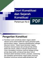 Teori Konstitusi (1)