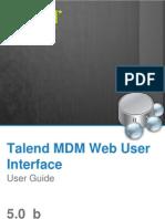 TalendOpenStudio MDM WebUI UG 50b En
