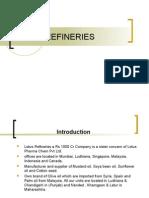 Lotus Refineries
