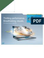 Intel Ultrabook Training for Channel