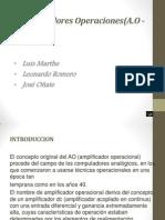 Amplificadores Operaciones EXPO