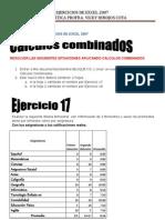 Ejercicios de Excel 2007 17 en Adelante