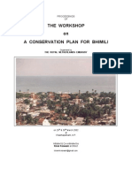 Bhimili Conservation Workshop_2002