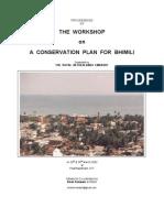 Bhimili Conservation Workshop_2002