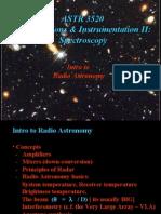 Intro to Radio Astronomy (Ppt)