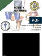 ARTRITIS  Y OSTEOARTROSIS