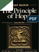 Ernst Bloch - The Principle of Hope Vol1