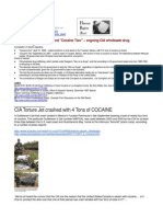 "07-09-24 ""Cocaine One""  and ""Cocaine Two"" – ongoing CIA wholesale drug trafficking…"