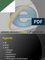 IPv6 - By Jackson Abraham