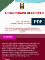 Slide Administrasi Dan Teknik Pembuatan Proposal