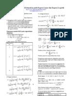 Maksimum Likelihood Estimation Pada Regresi