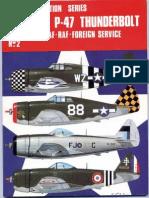 Osprey - Aircam Aviation Series 02 - Republic P-47 Thunderbolt in USAAF-RAF-Foreign Service