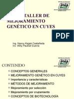 CURSO TALLER DE MEJORAMIENTO GENÉTICO EN CUYES www.peru-cuy.com