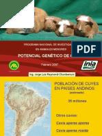 Cpr Potencial Genetico Del Inia www.peru-cuy.com