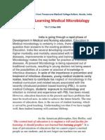 Teaching Medical Microbiology