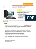 PC Troubleshooting_Maintenance Trainer PCTS-900A