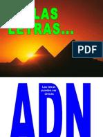 AAALetras y Numeros