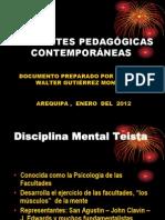 CORRIENTES PEDAGÓGICAS CONTEMPORANEAS