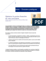 Dossier Optimiser La Gestion Financiere de Votre Association